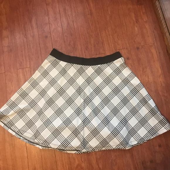 defbdb73ae6 Torrid Plaid Skater Skirt